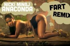 Nicki Minaj – Anaconda (Fart Remix)